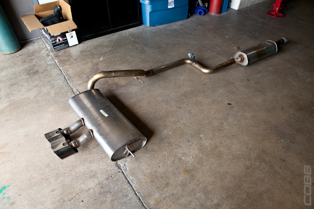 Forced induction exhaust design
