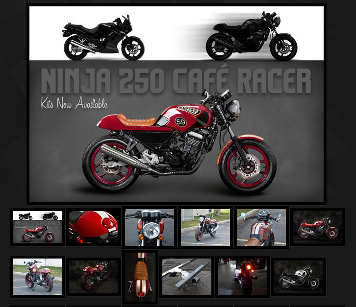 Cafe Racer Ninja 250 kits