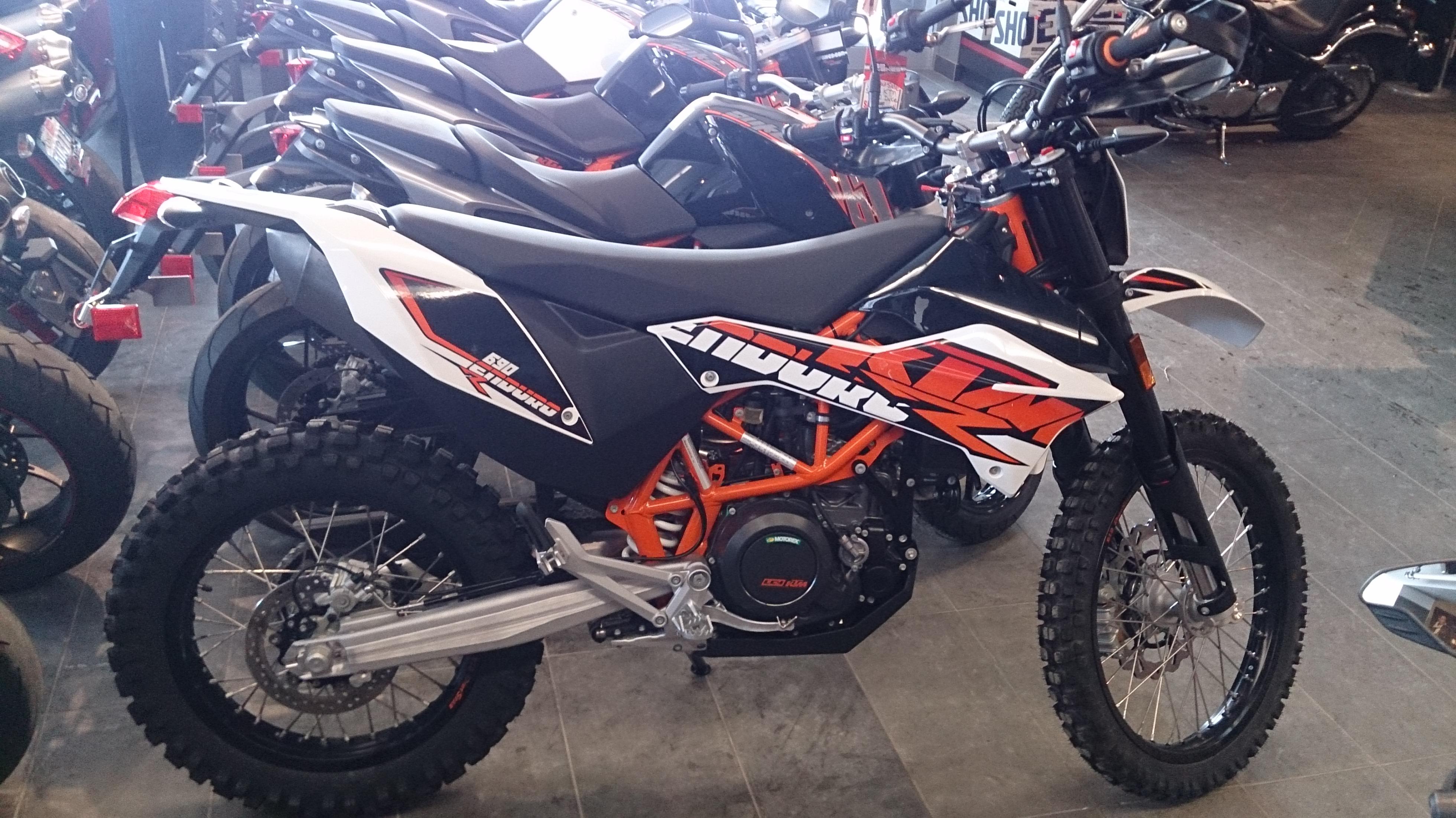 2012 ktm 690 enduro r as 2nd bike.