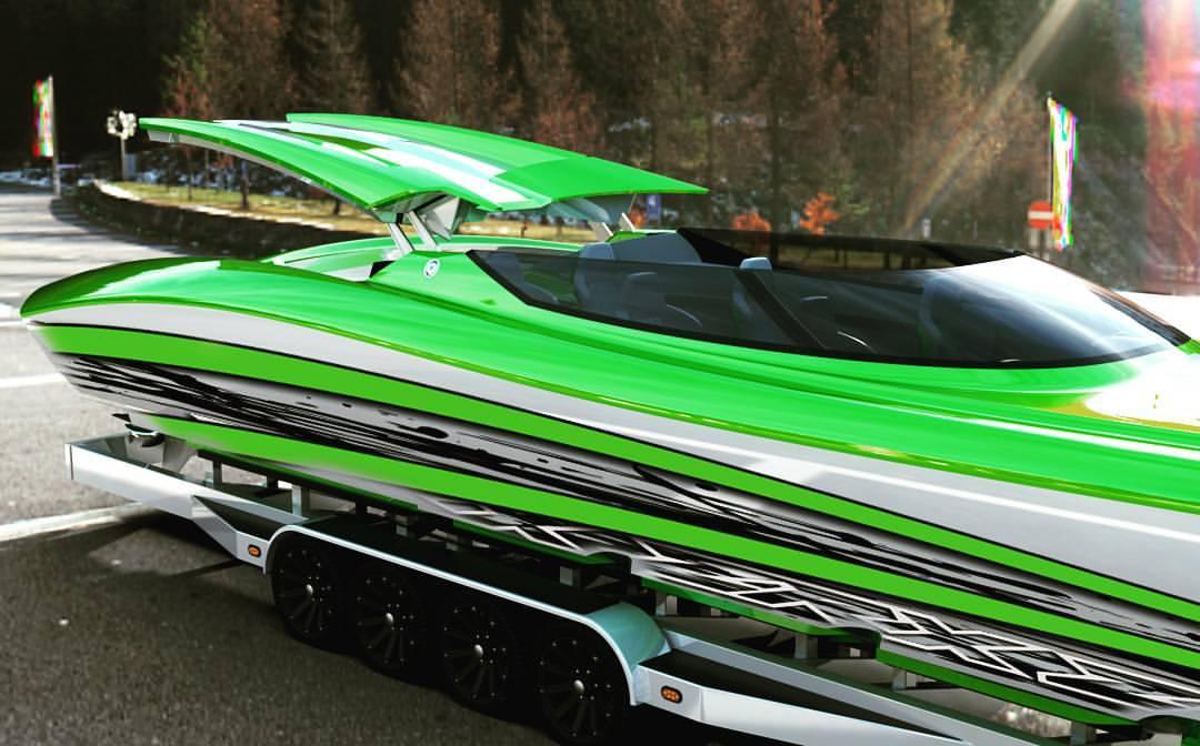 Name:  ZRX green power boat.jpg Views: 125 Size:  90.7 KB