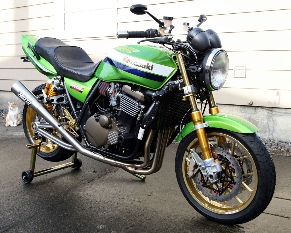 Transformation Zxr Cafe Racer
